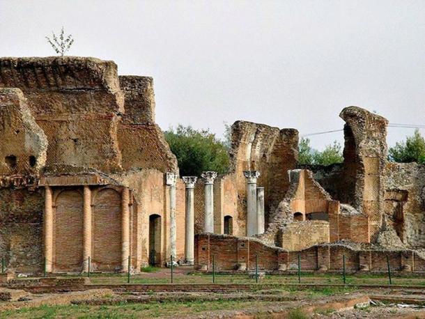 Imperial palace of the Villa Adriana, Tivoli.