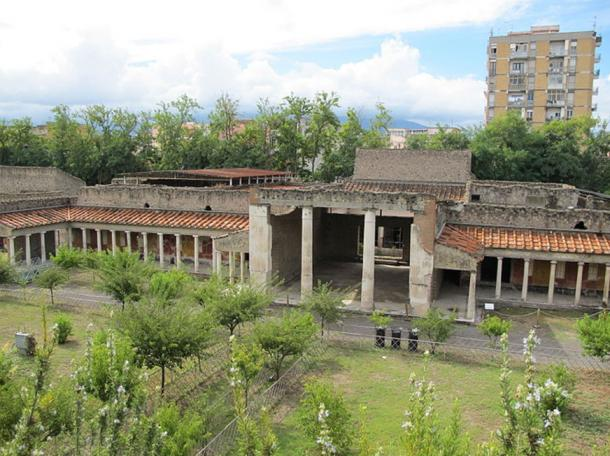 Villa Oplontis as it is today