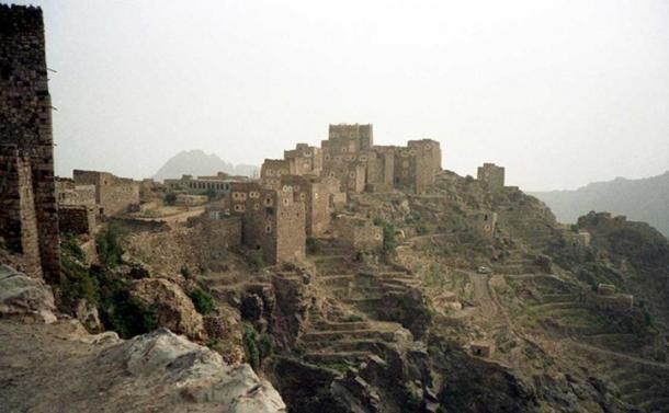 Village of Shaharah, Yemen.