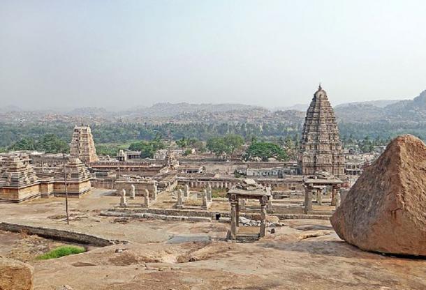 Virupaksha temple at Hampi. (Lomita / CC BY-SA 2.0)