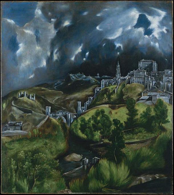 'Vista de Toledo' (1596-1600) by El Greco. (Public Domain)
