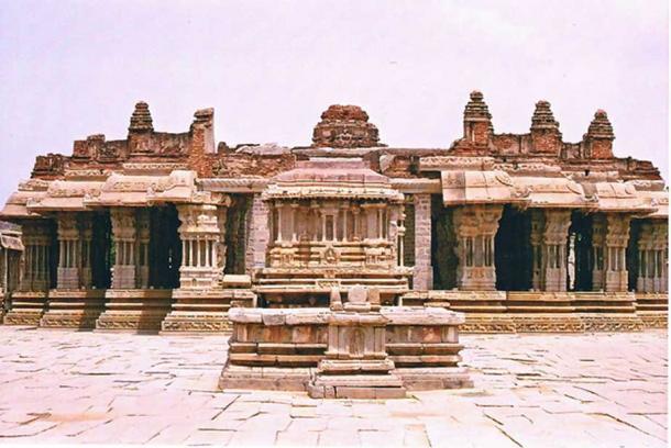 Vitthala temple, in Hampi, Karnataka state. (Dineshkannambadi/CC BY SA 3.0)
