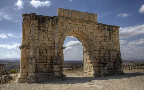 Volubilis Arch of Caracalla, Morocco (Prioryman / CC BY-SA 3.0)