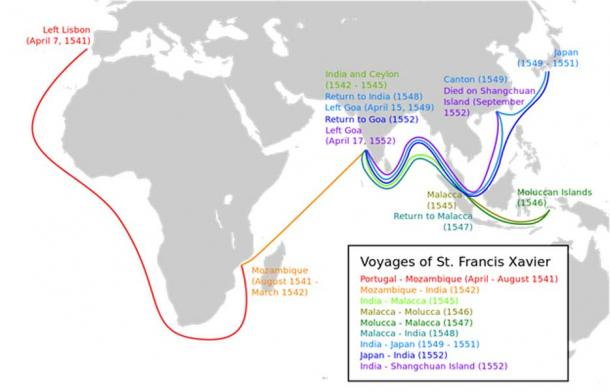 Voyages of St. Francis Xavier