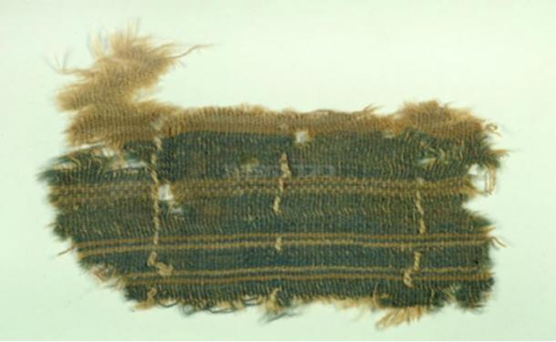 Wadi Murba'at textile (courtesy of the Israel Antiquities Authority)