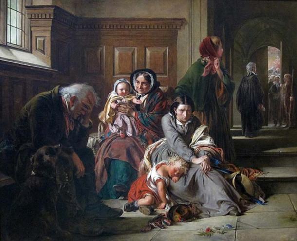Waiting for the Verdict, Abraham Solomon, 1859.