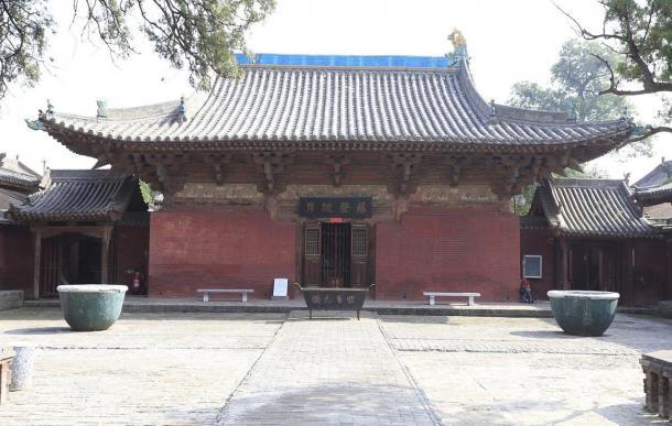 Wanfo Hall of Zhenguo Temple