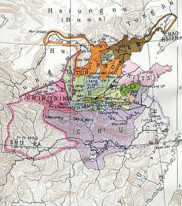 Warring States, about 350 BC.