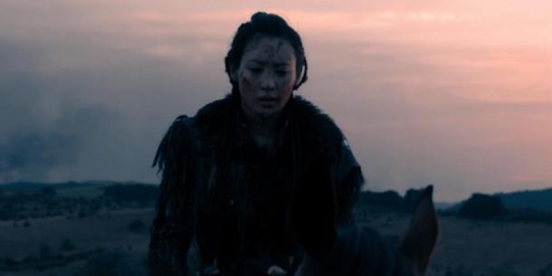 Warrior Khutulun in the series Marco Polo. (Marco Polo Wiki)