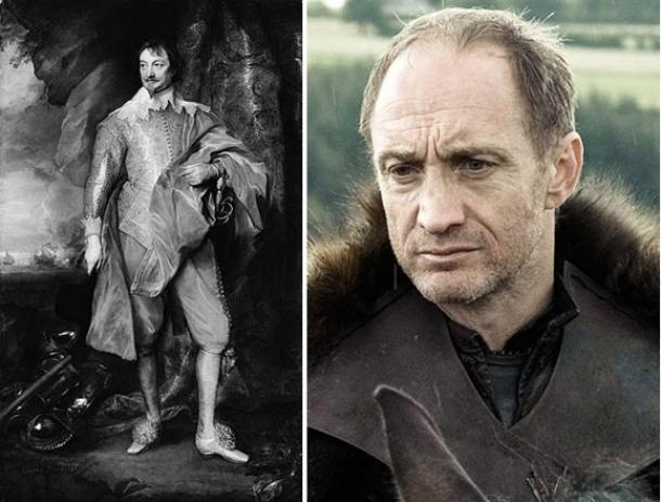 Earl of Warwick (Wikiwand) compares with Roose Bolton (Taringa.net)