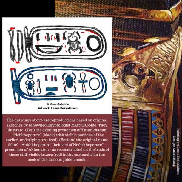 """Was the golden mask found on the mummy of Tutankhamun originally prepared for a female pharaoh who preceded him? Based on studies conducted by Dr Nicholas Reeves and Marc Gabolde on the object; the answer is a resounding """"Yes""""."""