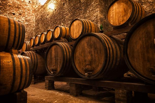 Wealthy priests would typically own large wine cellars of Commandaria wine. (Shchipkova Elena / Adobe)