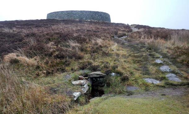 The Well of St Patrick south of Grianan