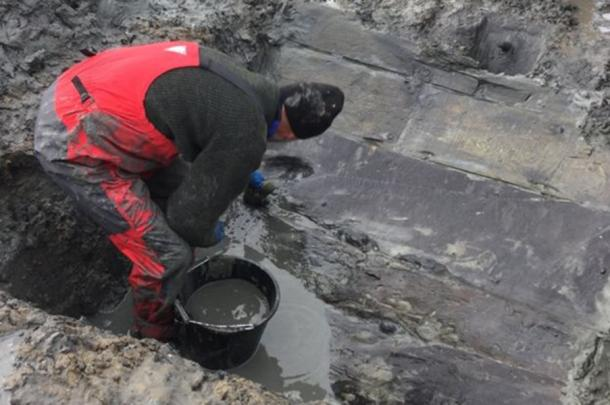 Well preserved timbers have been excavated and some dated to 1531. (Image: Timescapes)