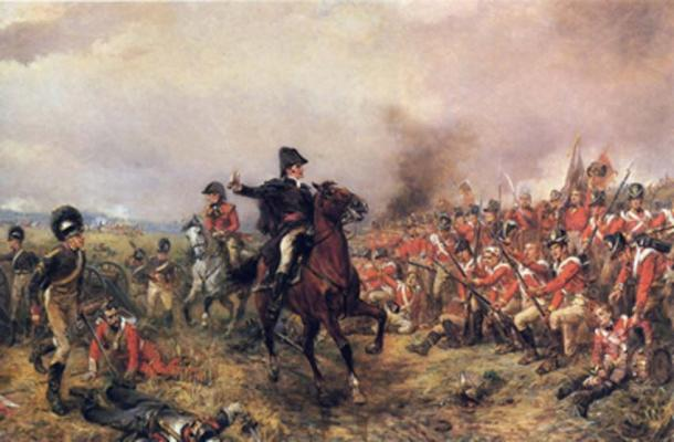Wellington at the Battle of Waterloo. (Hohum / Public Domain)