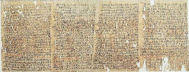 Segments from the Westcar papyrus