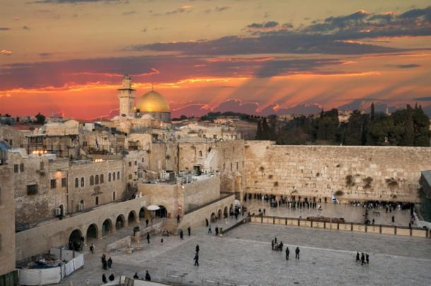 The Western Wall at the Temple Mount in modern day Jerusalem, Israel. (VanderWolf Images / Adobe stock)