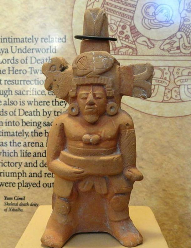 Whistle in the shape of a Ball Player, Late Classic Mayan – San Diego Museum of Man