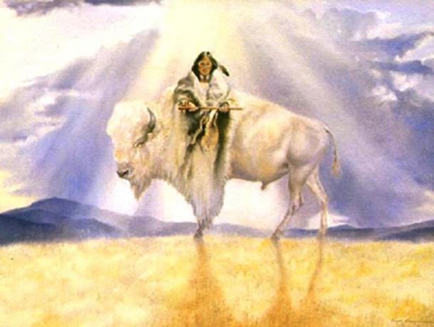 'White Buffalo Calf Woman.'