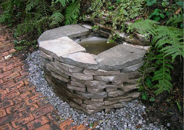 A Wishing Well in Barrmill, Scotland.
