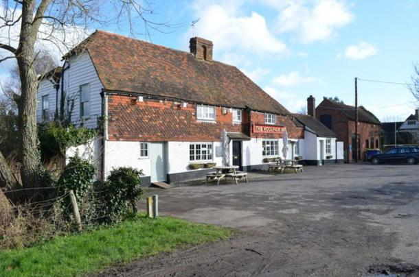 The tragic incident took place behind the Woolpack Inn, Kent