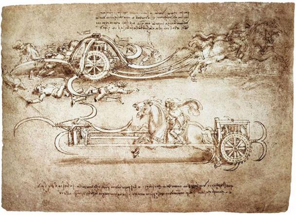 A Work by Leonardo Da Vinci.
