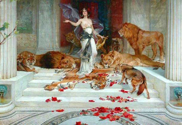 Wright Barker's 1889 'Circe'. (Public Domain)
