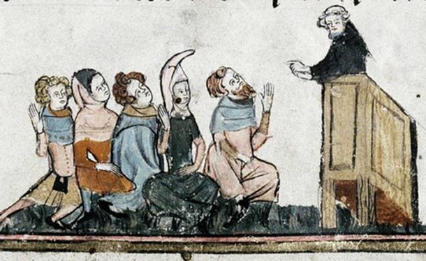 'Wycliffite Preacher', English 14th century