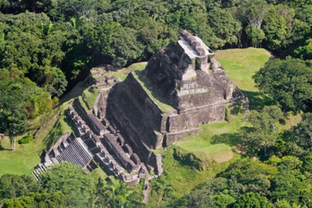 Xunantunich from above. By wollertz / Adobe Stock