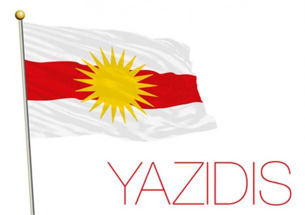 Yazidis flag (Frizio / Adobe)