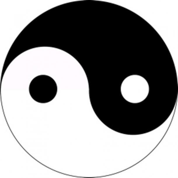 Yin-Yang symbol.