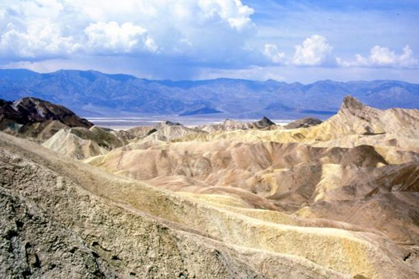Zabriskie Point – an eastern entrance into Death Valley.