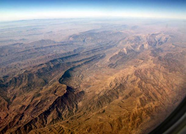 The Zagros Mountains in Iran