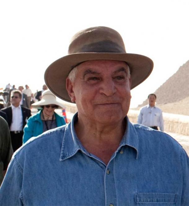 Egyptian archaeologist Dr. Zahi Hawass (The Official White House Photo Stream / Public domain)