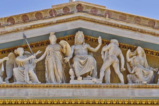 Zeus, Athena, and other ancient Greek gods and deities, Athens. (Dimitrios / Adobe)
