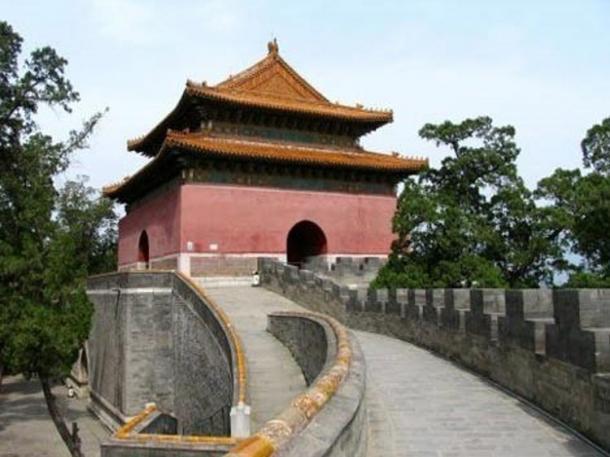 The Zhaoling Tomb, Changping, China.