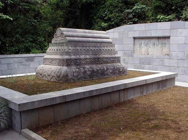 Zheng He's tomb. Nanjing, China.