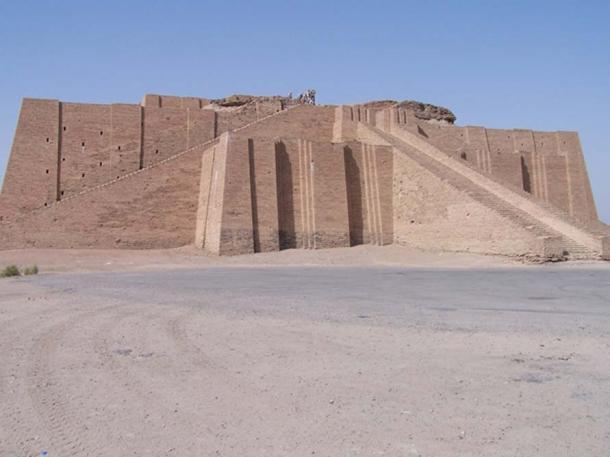 Ziggurat at Ali Air Base, Iraq
