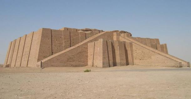 Ziggurat at Ur.