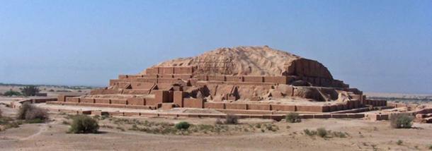 Ziggurat of Choga Zanbil, Iran