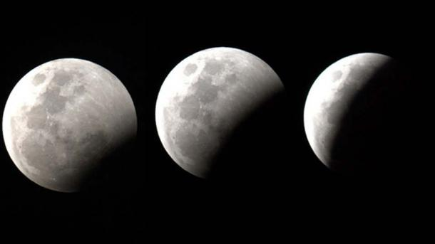 A lunar eclipse.