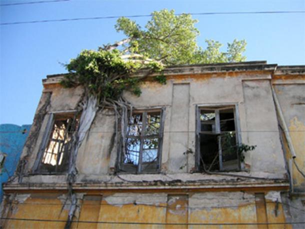 An abandoned building in Mazatlan, Mexico.