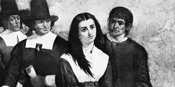 One of the young girls accused of being a witch at the Salem witch trials who may have been affected by ergotism. (Thomas Satterwhite Noble / CC BY-SA 4.0)