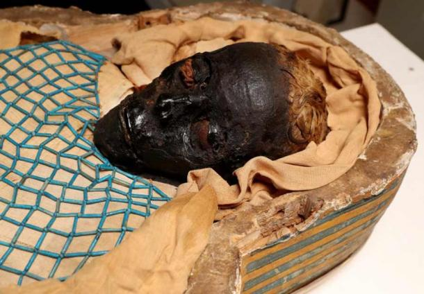 Thanks to advances in technology, scientists have now uncovered new evidence in the cold case of Takabuti, the Egyptian mummy housed in Northern Ireland. (Ulster Museum)