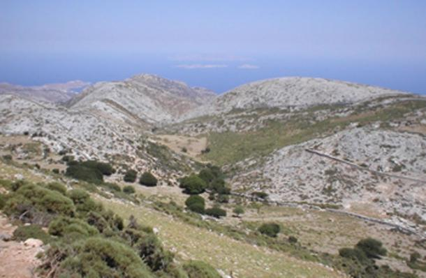 It is believed that the Aegean Sea levels allowed for migration to Naxos. (MGA73bot2 / CC BY-SA 3.0)
