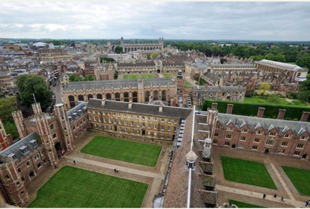 An aerial shot of St. John's College (Photo by St. John's College)