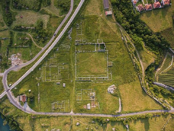 Aerial view of Doclea (Mcipovic/ CC BY-SA 4.0)