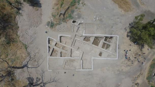 Aerial view of the Church of the Apostles, which is said to have been built over the house of Jesus' disciples Peter and Andrew. (Screenshot/Fox News)