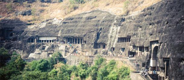 El Maravilloso Ajanta Cuevas