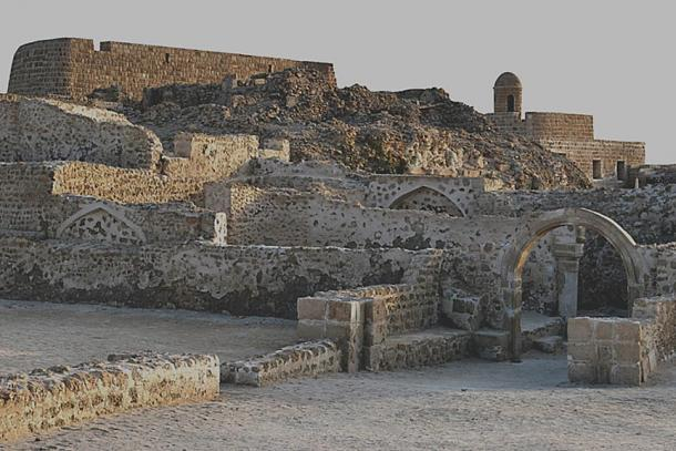 The Qal'at al-Bahrain site as it stands today.